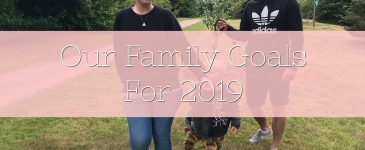 Our Family Goals For 2019