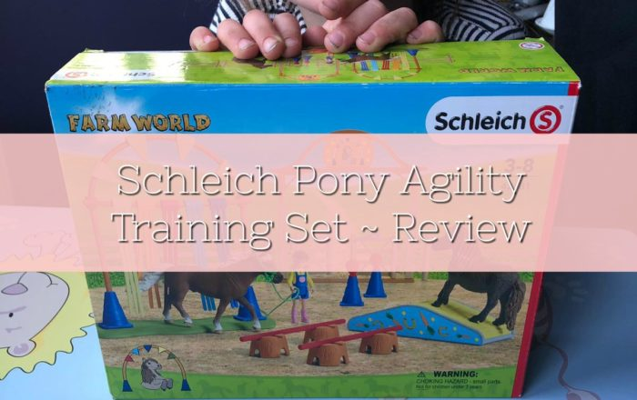 Schleich Pony Agility Training Set ~ Review
