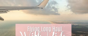 Flying Long Haul With Kids