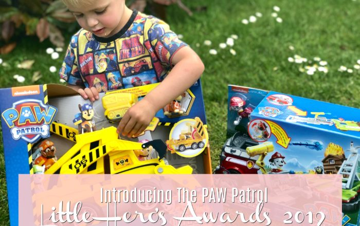 Introducing The PAW Patrol Little Hero's Awards 2019