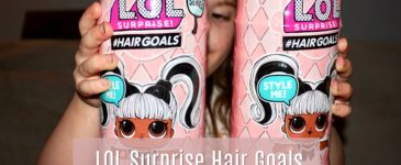 LOL Surprise Hair Goals ~ Review