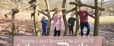 Running A Small Business & The Difficulty Of Staying Positive