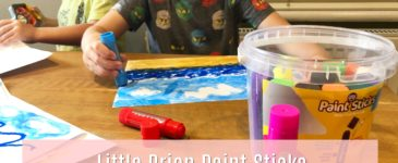 Little Brian Paint Sticks Review & Giveaway #LBPaintSticksMums