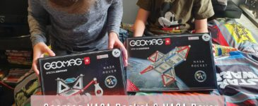 Geomag NASA Rocket & NASA Rover REVIEW