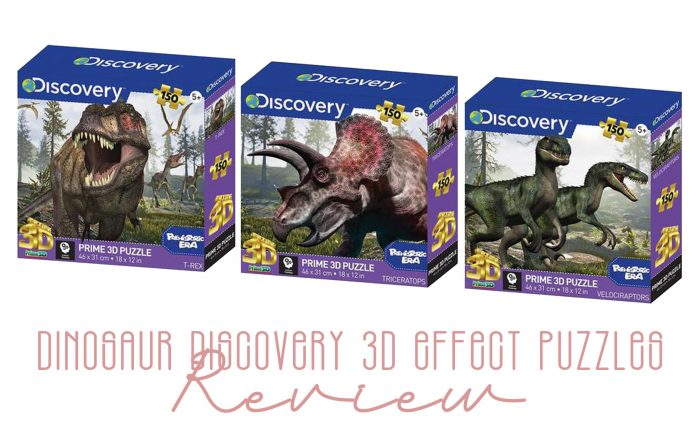 Dinosaur Discovery 3D Effect Puzzle Review & Giveaway!