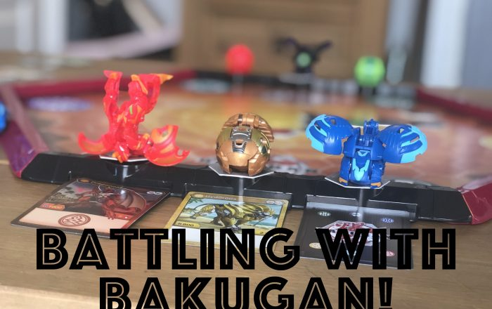Battling with Bakugan! Arena & Starter Pack Review