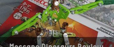 Meccano Dinosaurs Review