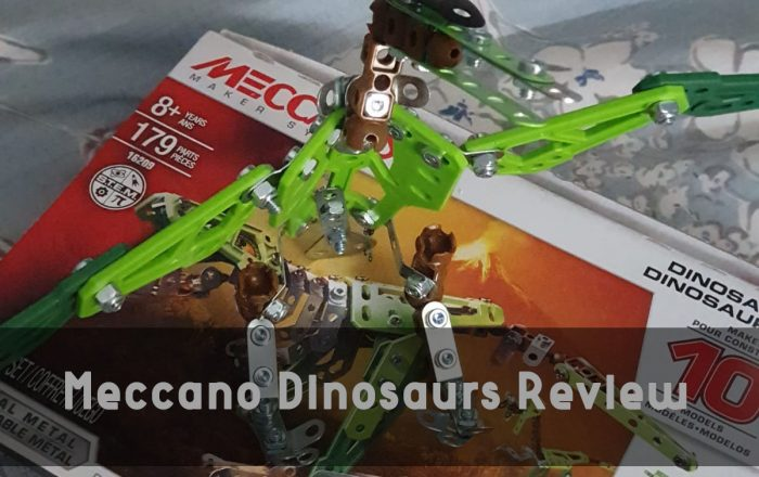 Meccano Dinosaurs Review