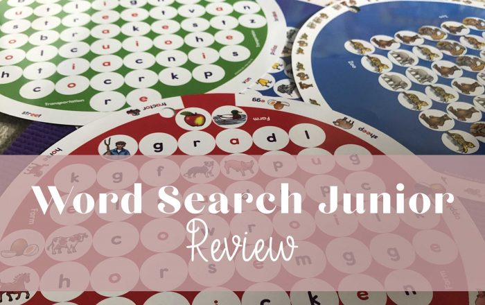 Word Search Junior game review