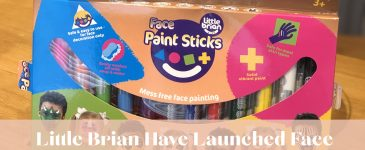 Little Brian Have Launched Face Paint Sticks – And We're Hooked!