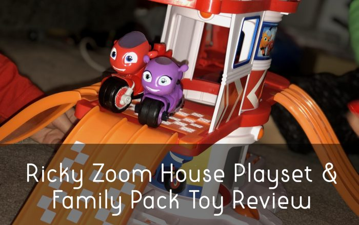 Ricky Zoom House Playset & Family Pack Toy Review