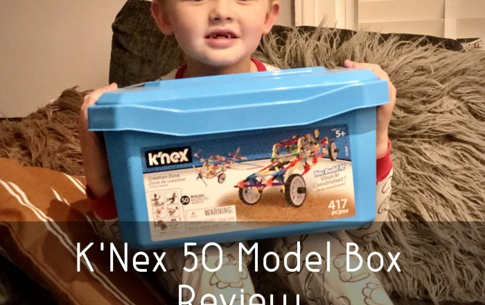 K'Nex 50 Model Box Review
